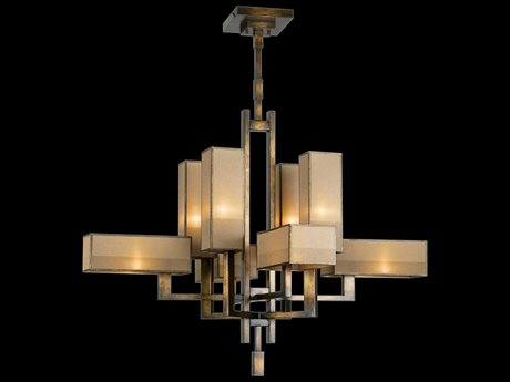 Fine Art Lamps Perspectives 733840ST Eight-Light Pendant