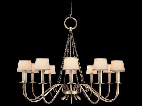 Fine Art Lamps Portobello Road 420840ST 12-Light 47'' Wide Grand Chandelier FA420840ST