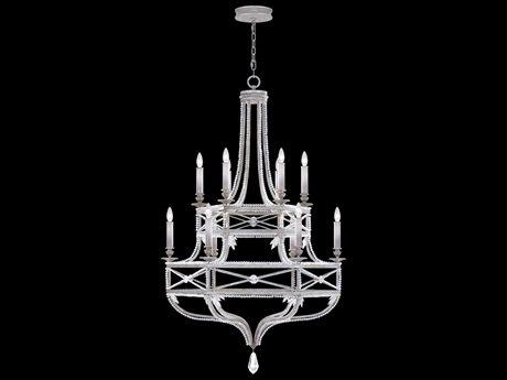 Fine Art Lamps Prussian Neoclassic 857640-12ST 12-Light 37 wide Grand Chandelier FA85764012ST