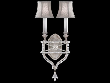 Fine Art Lamps Prussian Neoclassic 861650-11ST Two-Light Wall Sconce FA86165011ST