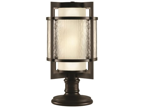 Fine Art Lamps Singapore Moderne Outdoor 817583ST Two-Light Outdoor Post Light