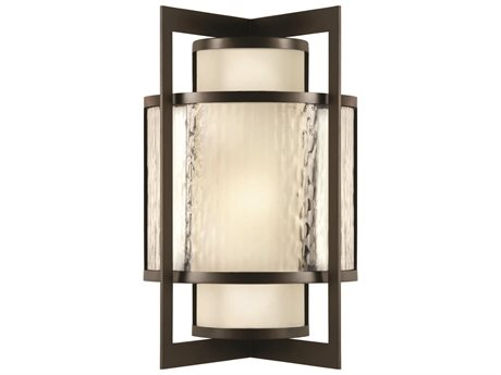 Fine Art Lamps Singapore Moderne Outdoor 818181ST Two-Light Outdoor Wall Light FA818181ST