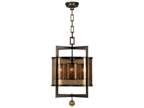 Fine Art Lamps Singapore Moderne 591140ST Four-Light Pendant