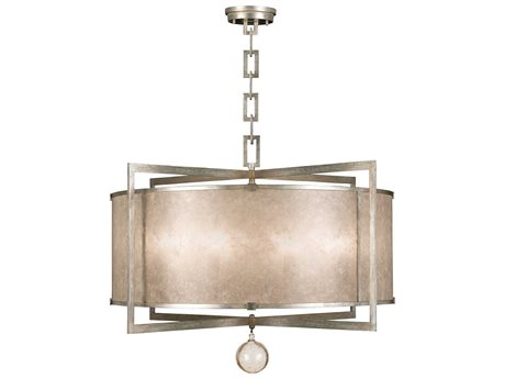 Fine Art Lamps Singapore Moderne Silver 591540-2ST Eight-Light Pendant