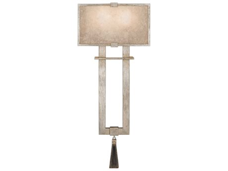 Fine Art Lamps Singapore Moderne Silver 600550-2ST Two-Light Wall Sconce FA6005502ST