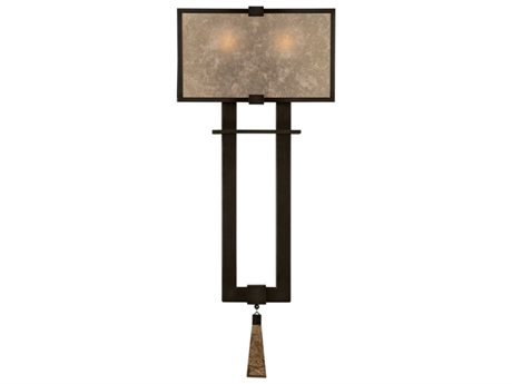 Fine Art Lamps Singapore Moderne 600550ST Two-Light Wall Sconce FA600550ST