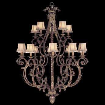 Fine Art Lamps Stile Bellagio 141940ST 15-Light 45'' Wide Grand Chandelier FA141940ST