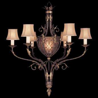 Fine Art Lamps Villa 1919 153140ST Seven-Light 39'' Wide Grand Chandelier FA153140ST