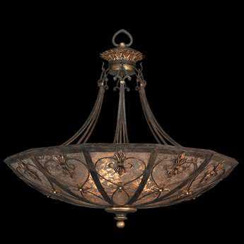 Fine Art Lamps Villa 1919 179942ST Three-Light Pendant FA179942ST