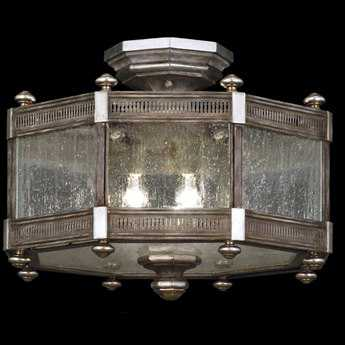 Fine Art Lamps Villa Vista 809240ST Three-Light Semi-Flush Mount Light FA809240ST