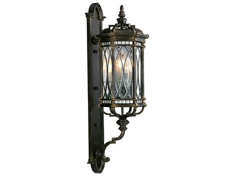 Fine Art Lamps Warwickshire 612081ST Four-Light Outdoor Wall Light