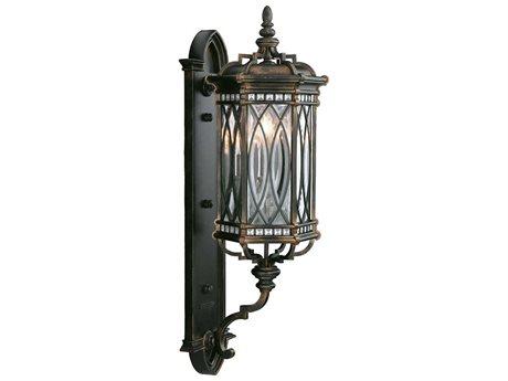 Fine Art Lamps Warwickshire 612281ST Three-Light Outdoor Wall Light FA612281ST