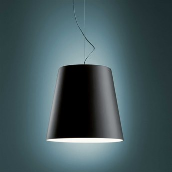 Fontana Arte Amax Black Pendant Light
