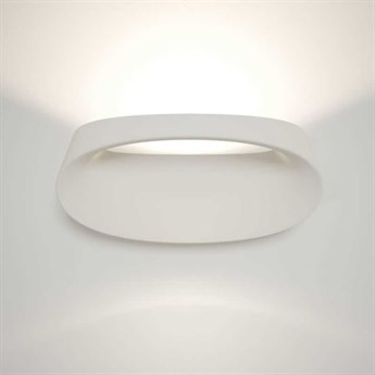 Fontana Arte Bonnet White 12'' Wide LED Wall Sconce FONUL4248BI