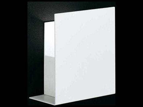 Fontana Arte Corrubedo White 8'' Wide Halogen Wall Sconce