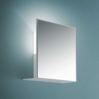 Fontana Arte Corrubedo Mirrored 8'' Wide Halogen Wall Sconce