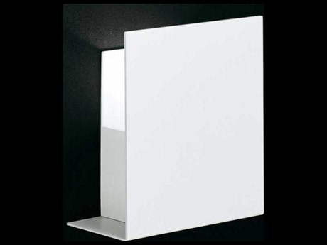 Fontana Arte Corrubedo White 8'' Wide LED Wall Sconce FONUL5600BI
