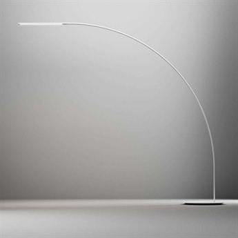 Fontana Arte Yumi White - Aluminum LED Floor Lamp
