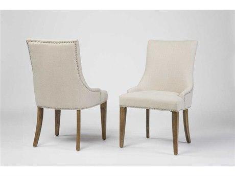 Four Hands Ashford Linen Sadie Dining Side Chair FSCASH06GP05