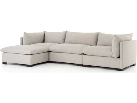 Four Hands Atelier Espresso / Bennett Moon Sectional Sofa FSUATRS01925