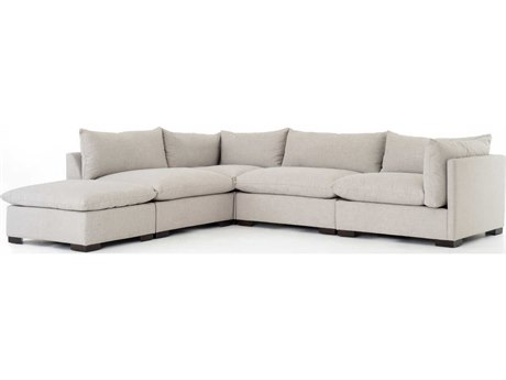Four Hands Atelier Espresso / Bennett Moon Sectional Sofa