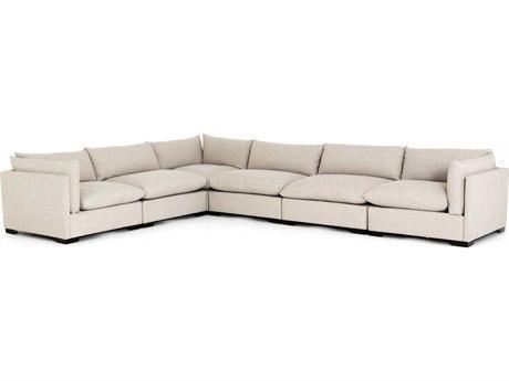Four Hands Atelier Espresso / Bennett Moon Sectional Sofa