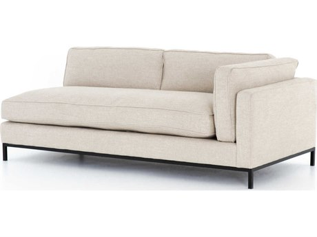 Four Hands Atelier Oak Sand Right Arm Facing Sofa Couch
