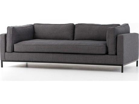 Four Hands Atelier Bennett Charcoal Grammercy Sofa FSUATR002BCH