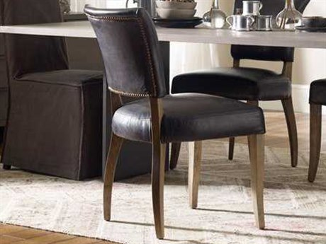 Four Hands Carnegie Old Saddle Black/Weathered Oak Mimi Dining Chair FSCCARM3WOSB
