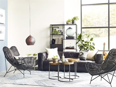 Four Hands Carnegie Sofa Set Casual Living Room FSCCARR1OSBSET1