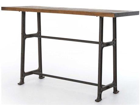 Four Hands Hughes 70'' Wide Rectangular Bar Height Dining Table FSCIMP6K
