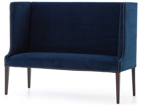 Four Hands Theory Primo New Navy / Acorn Accent Bench