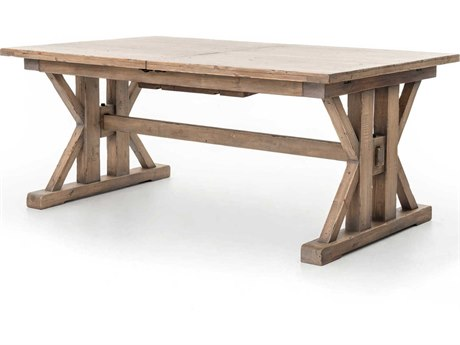 Four Hands Tuscanspring Sundried Wheat 96'' Wide Rectangular Dining Table