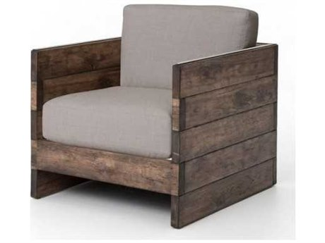 Four Hands Wesson Distressed Oak Franklin Chair FSUWES023