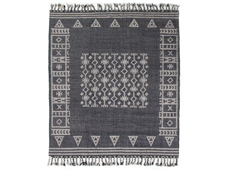 Four Hands Willow Navy / White Rectangular Area Rug FSIWIL338