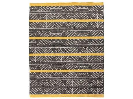 Four Hands Willow Marigold / Charcoal Rectangular Area Rug FSIWIL399