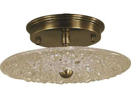 Framburg Celeste 8'' Wide LED Semi Flush Light RM4531