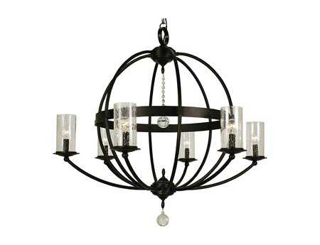 Framburg Compass Six-Light 33'' Wide Chandelier RM1077