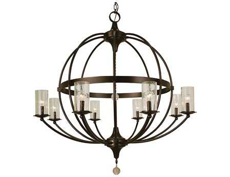 Framburg Compass Eight-Light 40'' Wide Chandelier RM1078