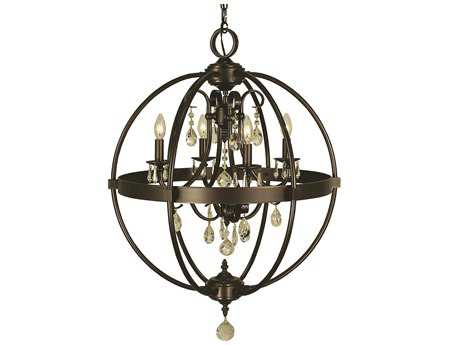 Framburg Compass Four-Light 21'' Wide Mini Chandelier RM1064