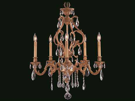 Framburg Czarina Five-Light 27'' Wide Chandelier RM9955