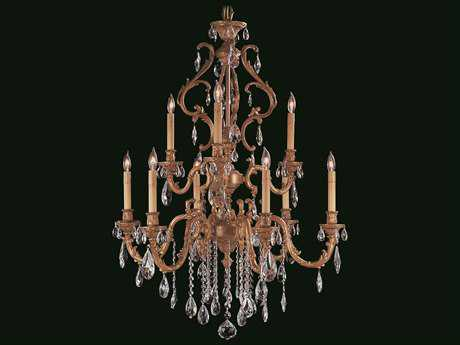 Framburg Czarina Nine-Light 30'' Wide Chandelier RM9959