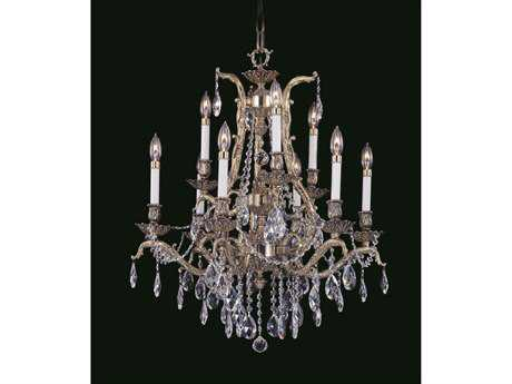Framburg Czarina Nine-Light 28'' Wide Grand Chandelier RM8429