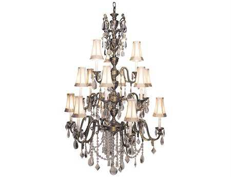Framburg Czarina 15-Light 41'' Wide Grand Chandelier RM9286