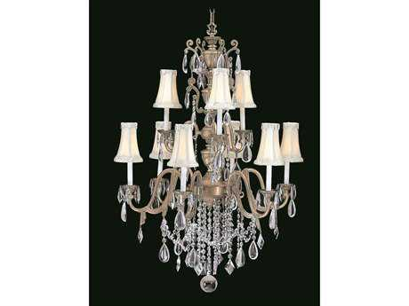 Framburg Czarina Nine-Light 34'' Wide Grand Chandelier RM9289