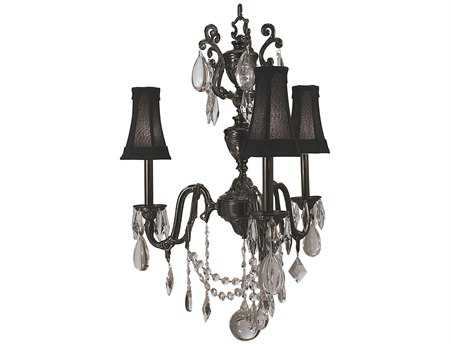 Framburg Czarina Three-Light 24'' Wide Chandelier RM9283