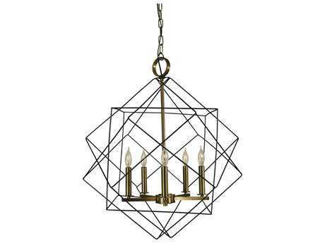 Framburg Etoile Five-Lights 24'' Wide Chandelier RM4705