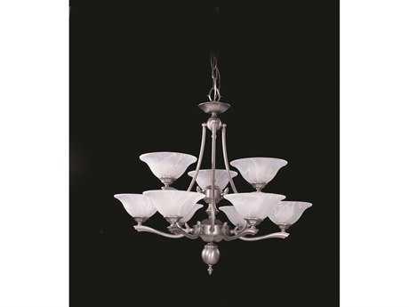 Framburg Fin De Siecle Nine-Light 30'' Wide Chandelier RM7999