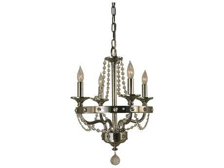 Framburg Isolde Four-Light 14'' Wide Mini Chandelier RM4504