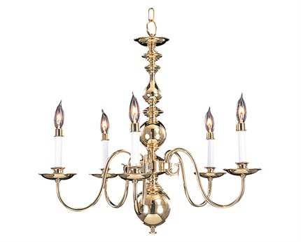 Framburg Jamestown Five-Light 24'' Wide Chandelier RM9126